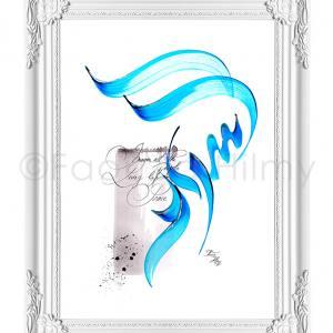 peace arabic calligraphy